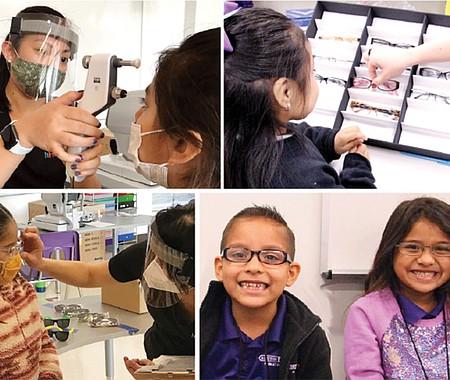 DELICADO. La discapacidad visual es la condición más común entre los niños en edad escolar. Los errores de refracción no tratados, como la miopía y el astigmatismo, son la causa número uno de ceguera infantil.