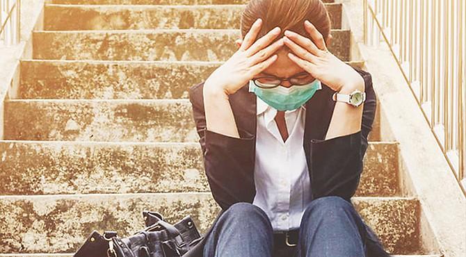 INCÓMODO. Los recientes cambios en nuestro estilo de vida causados por las restricciones impuestas como consecuencia de la pandemia de COVID-19 han tenido un gran impacto en cómo nos sentimos. La fatiga pandémica nos afecta a todos.