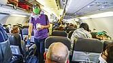 RECORRIDOS. Al menos un millón de personas transitan a diario por los aeropuertos del país desde el 11 de marzo de 2021.