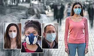 DUDAS. Muchos no confían en la mascarilla: la consideran insuficiente para evitar los efectos de otras enfermedades de trasmisión aérea o de la contaminación atmosférica.