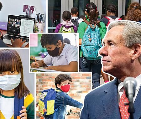RENUENTES. A pesar del notorio aumento de casos de contagio y resultados positivos en las pruebas de descarte del COVID-19 en la región, el Gobernador Greg Abbott no permitirá el uso obligatorio de mascarillas entre los estudiantes no vacunados que asisten a las escuelas públicas.