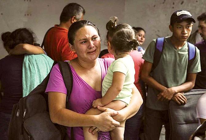 Deportación acelerada para familias específicas