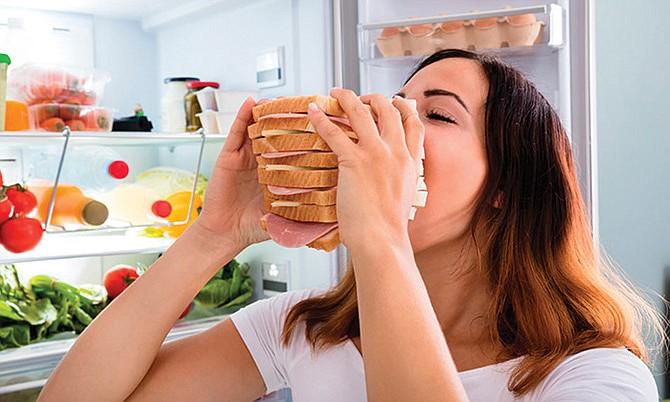 Cuidado con los atracones de comida