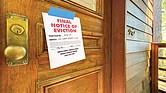 AFUERA. Magistrados conservadores de la Corte Suprema rechazaron los argumentos del Gobierno Federal a favor de extender la moratoria contra los desalojos.