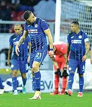 El Cruz Azul solo registra dos victorias en ocho partidos