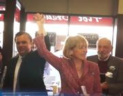 En este evento, Coakley recibió formalmente el apoyo de Mass Latino Democrat Caucus y lanzó un comercial de su campaña en español.