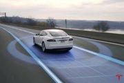 Tesla nos muestra como funciona su modelo de auto conducción