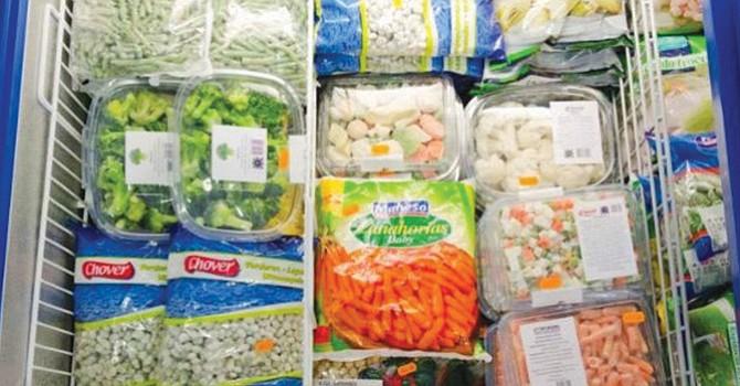 alimentos congelados industrializados