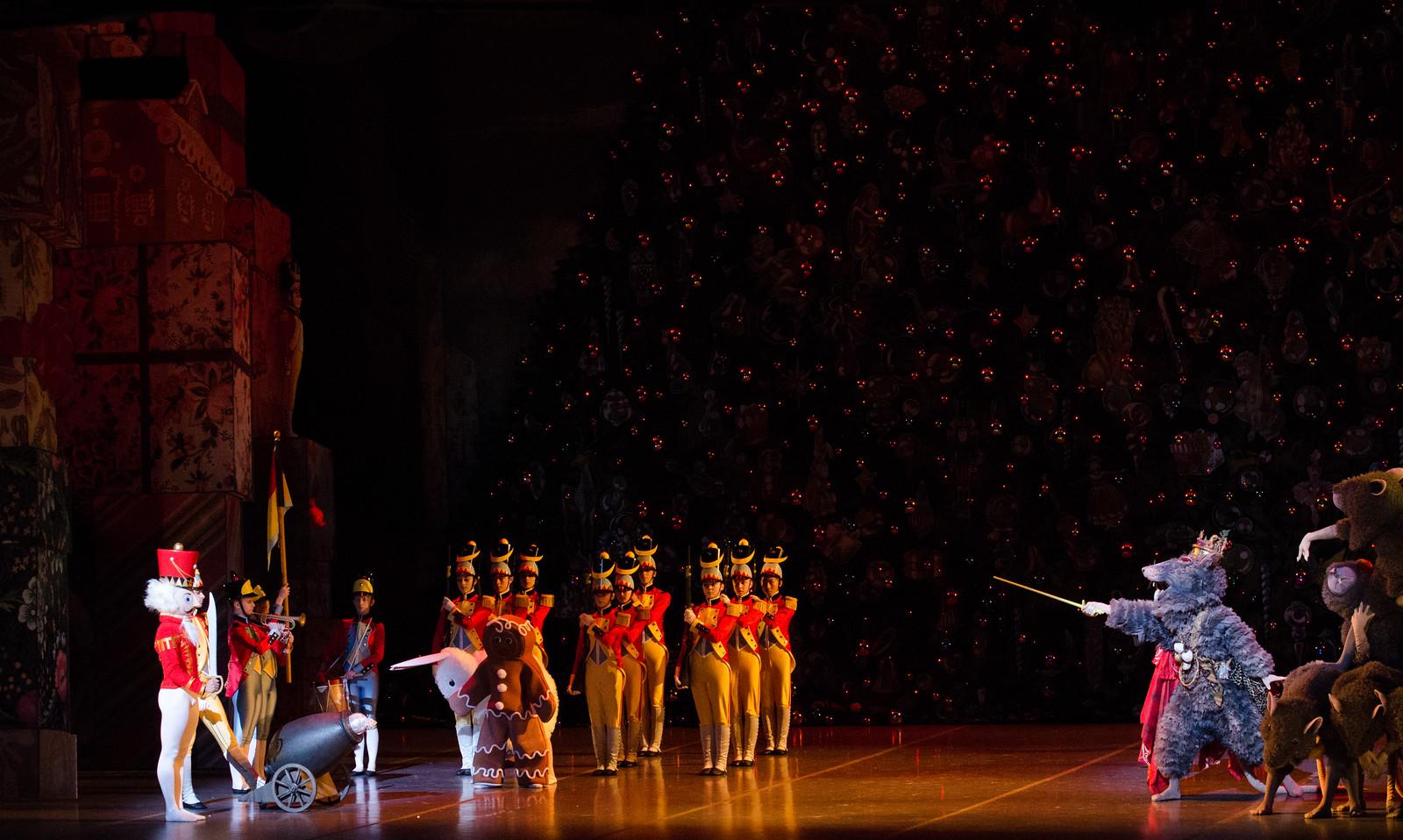 Presentación de El cascanueces del Ballet de Boston