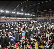 ÉXITO. Más de 4.800 personas asistieron al EdFest 2016 en el DC Armory.