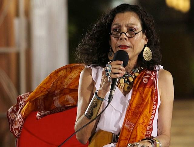 NICARAGUA. Rosario Murillo, vicepresidente y primera dama nicaragüense