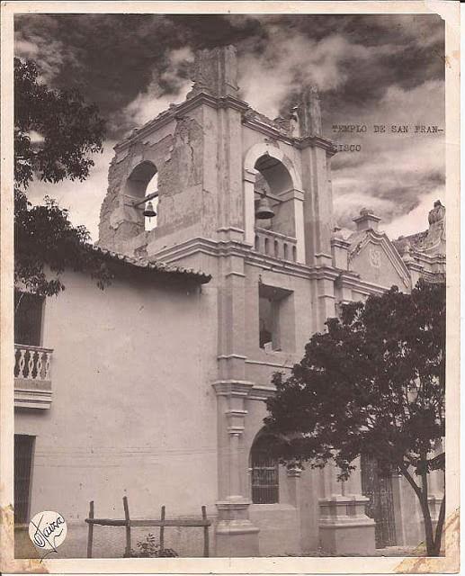 El templo de San Francisco de El Tocuyo quedó devastado